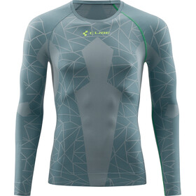 Cube Race Be Cool Funktionsunterhemd langarm Herren grey'n'green